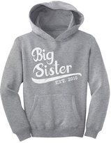 TeeStars - Elder Sibling Gift Idea - Big Sister Est 2016 Youth Hoodie