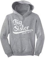 TeeStars - Elder Sibling Gift Idea - Big Sister Est 2016 Youth Hoodie