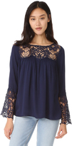 BB Dakota Geraldine Lace Blouse