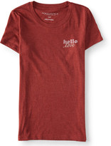 Aeropostale Hello Love Graphic T
