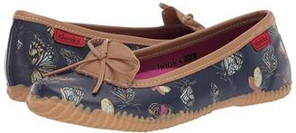 Chooka Butterfly Skimmer (Navy) Women's Flat Shoes