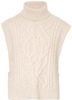 Isabel Marant Grant Aran-knit sweater