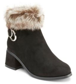OLIVIA MILLER Little Girls Go Fur It Bootie