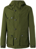 Woolrich Hooded parka jacket - men - Polyamide/Polyester - M