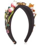 Dolce & Gabbana Citta floral-embellished headband
