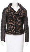 Diane von Furstenberg Marvela Leather Jacket
