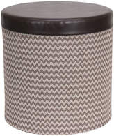 Household Essentials Round Storage Ottoman