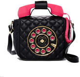 Betsey Johnson Quilted Phone Crossbody Bag