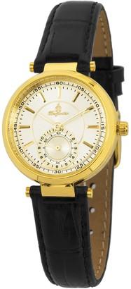 Burgmeister Womens Analogue Quartz Watch with Leather Strap BM336-272