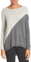 Alice + Olivia Women's Abbie Colorblock High/low Pullover