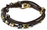 "Wakami Bracelet Leather - Brown (23"")"