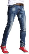 Jade Onlines Jade Men's Fashion Casual Slim Skinny Fit Stretch Jeans Pants Trousers