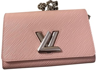Louis Vuitton Twist Pink Leather Clutch bags