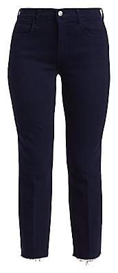 L'Agence Women's Sada High-Rise Crop Slim Jeans