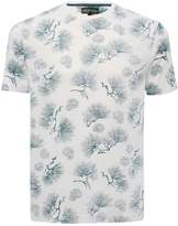M&Co Fan print t-shirt