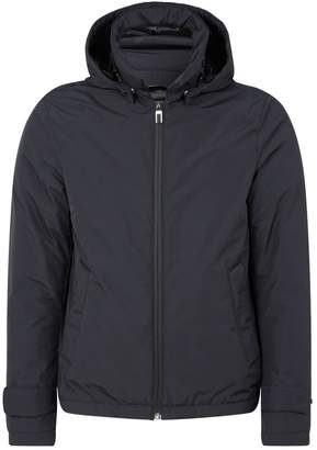 Canali Down Jacket with Detachable Hood