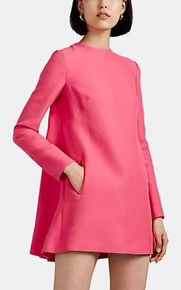 Valentino Women's Silk-Wool A-Line Minidress - Pink