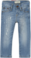 Levi's Light Wash 520 Extreme Taper Distressed Jeans