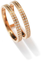 Repossi Berbè;re Two-Row Diamond Ring in 18K Rose Gold