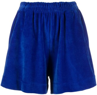 Styland Velvet Stretch Shorts