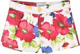 Mayoral Floral Shorts