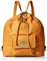 MG Collection Kirsten Drawstring Bucket Tote