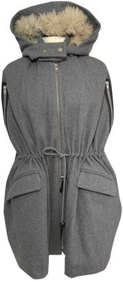 Thakoon Grey Wool Coats