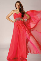 Alyce Paris - 6479 Long Dress In Watermelon