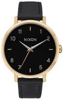 Nixon Women's The Arrow Leather Strap Watch, 38Mm