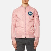MHI Men's M.A.H.A. Spectrum Flight Jacket Dusty Pink