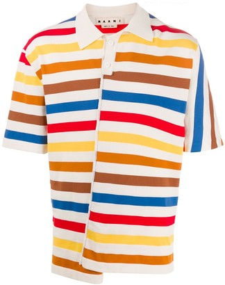 Marni Reconstructed Polo Shirt