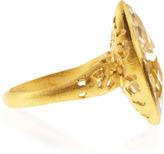 Indulgems Rock Crystal Marquise-Cut Ring