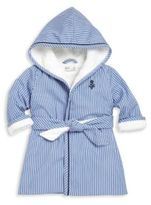 Ralph Lauren Baby's Striped Hooded Robe
