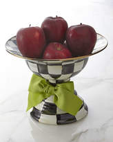Mackenzie Childs MacKenzie-Childs Large Courtly Check Compote
