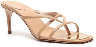 Schutz Tyna Leather Thong Sandals