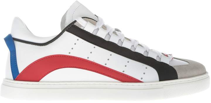 DSQUARED2 Laced-up Barney Sneakers