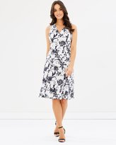 Sportscraft Laila Stitch Floral Dress