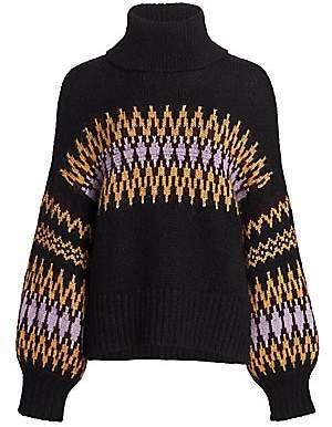 A.L.C. Women's Tracey Fairisle Sweater