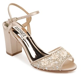 Badgley Mischka Women's Carlie Block Heel Sandals