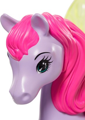Barbie Dreamtopia Princess Doll With Fantasy Horse and Chariot