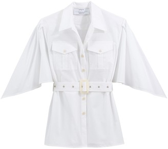 Victoria/Tomas X La Redoute Cotton Shirt with 3/4 Length Sleeves