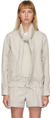 3.1 Phillip Lim Beige Utility Sports Jacket