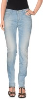 Care Label Denim pants - Item 42470714