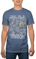 Hybrid Despicable Me One in a Minion Men's T-Shirt XXL