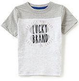 Lucky Brand Little Boys 2T-7 Coastal Luck Short-Sleeve Tee