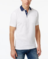 Club Room Men's Dot-Trim Performance Polo, Only at Macy's