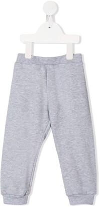Fendi Kids Logo Stamp Sweatpants