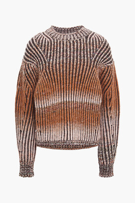 Acne Studios Degrade Ribbed-knit Sweater