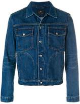Paul Smith pleated front denim jacket