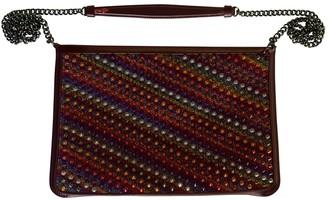 Christian Louboutin Loubiposh Multicolour Leather Clutch bags